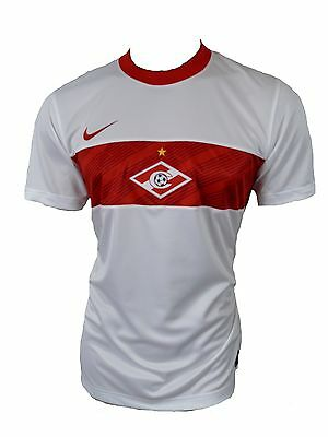 Nike Spartak Moscou Maillot Jersey Blanc Taille M
