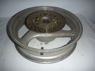 Suzuki GSX250F Across 91-96 Rear Wheel, worn disc No sprocket carriers