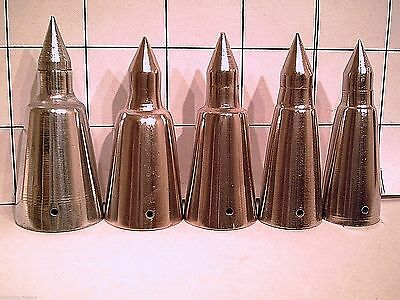 one steel alpine spike tip for walking sticks and canes 5 sizes to pick from new