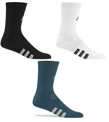 Adidas 2 Pack Crew Mens Golf Socks - New 2017- Pick Size & Color!