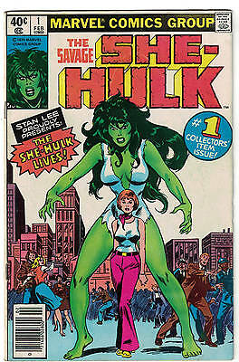 SHE HULK  Marvel comics 1 FN- 5.0 1980 fantastic four