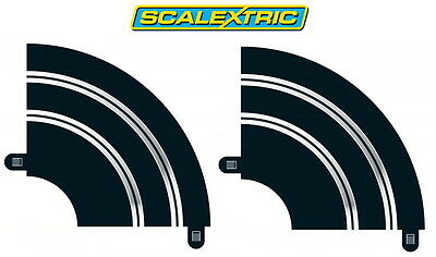 Scalextric Sports Track R1 Hairpin Curve X2 Lengths Sx8201