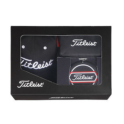Titleist Japan Golf JAPAN Cap Pouch Target Cup Set Gift Box Black AJGF75