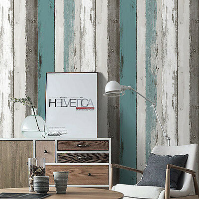 Wood Contact Wall Panel Peel Stick Wallpaper Blue Black Off White Self Adhesive