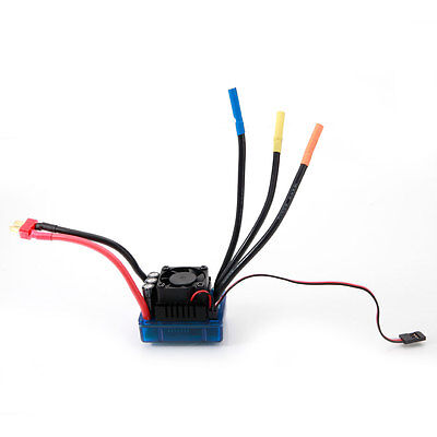 80A 2-4S Brushless Waterproof ESC with BEC 6.1V/3A for 1/8 1/10 Racing Car