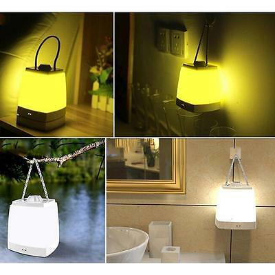 New Portable Dimmable LED Night Light Kids Sleep Timer Bedroom Bedside Lamp