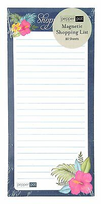Butterfly Magnetic Shopping List Pad 80 Sheets 80gsm (GILP)
