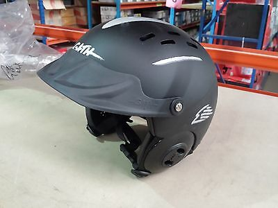 GATH Gedi Watersports Helmet with Peak L/XL **Grey/Black**