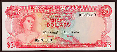Bahamas 3 Dollars 1968 Pick 28a (1)
