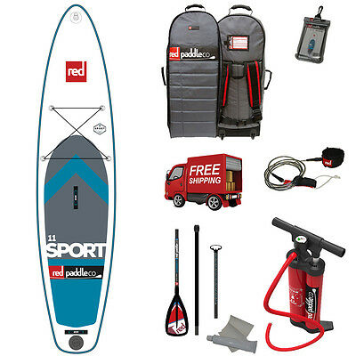Red Paddle 11' Sport MSL 2017 Inflatable SUP Paddleboard