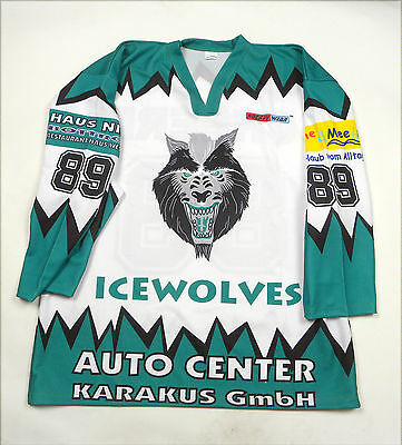 Icewolves Hockey Eishockey #89 Scheeres Hockey Wear Germany Deutschland