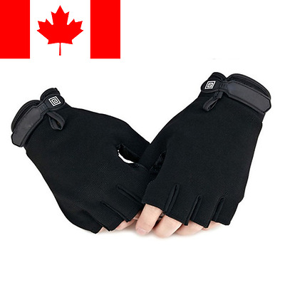 Weight lifting Gym Gloves Wrist Wrap Fitness Workout Exercise Bicycle Gloves