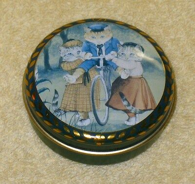 Bentley of London Victorian Cat Collection empty tin #2