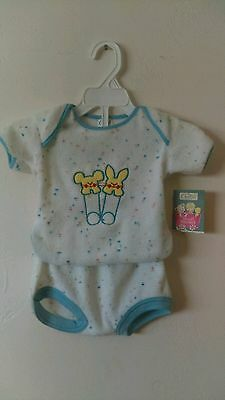 Vtg Babies 2 Pc Outfit - By Carters - NWT - Sz 9 Mos - Vintage Baby Boy - Infant