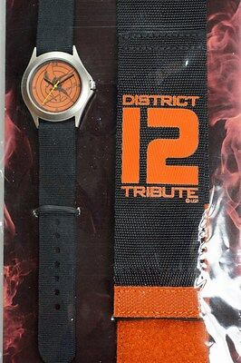 Hunger Games Mockingjay District 12 Commando Wrist Watch Official Licensed NEW