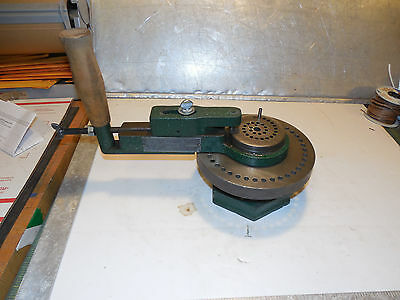 Di-Acro # 1 Rotary Bender Strippit Diacro Tube Bender Pexto Excellent Condition