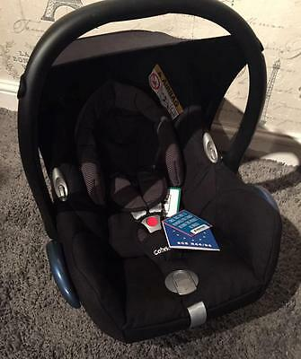*Maxi-Cosi CabrioFix Group 0+ Baby Car Seat, Black Raven - Unused*