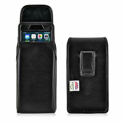 iPhone 8 Plus 7 Plus Holster Clip Otterbox Case Leather Vertical Turtleback