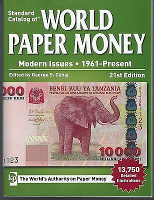Standard Catalog World Paper Money  1960 To Present  21St Edition  Used Vf