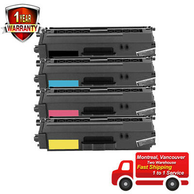 4PK Toner for TN336 Brother HL-L8250CDN HL-L8350CDW HL-L8350CDWT MFC-L8600CDW