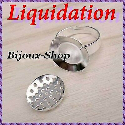 """10 Bracket of Diamond Ring Sieve ''More Own for Your Creations Son Hidden """""""
