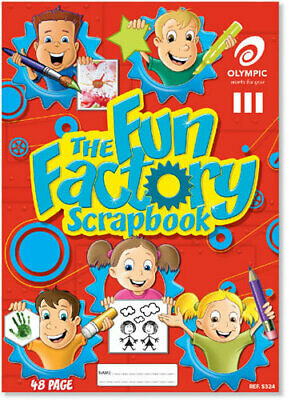 Olympic Scrapbook 324 Fun Factory 48 Page - Pack 20