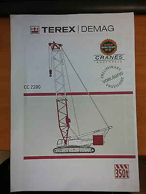 Terex Demag CC2200 Crane Manual