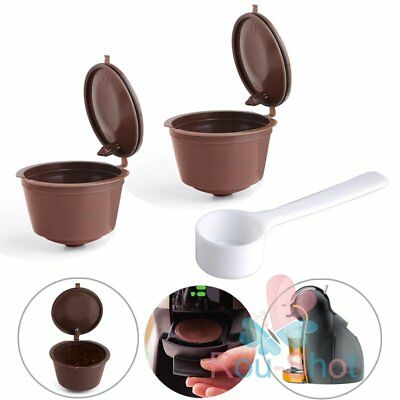 8 PCS Refillable Reusable Coffee Capsules Pod Cup for Nescafe Dolce Gusto【AU】