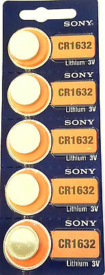 Sony CR1632, Lithium  LOT DE 1 PILE