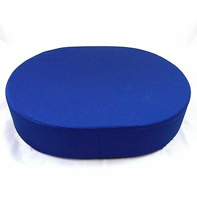 Drive Donut Oval Firm Foam Ring Cushion with Centre Cut Out and Removeable Cover