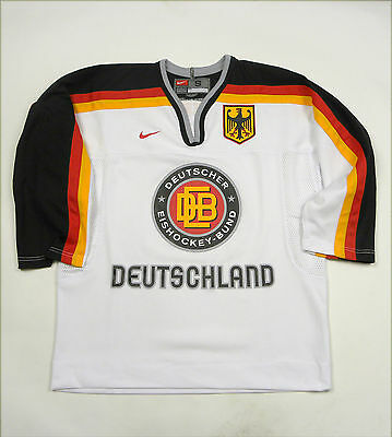 Germany Deutschland Eishockey Ice Hockey Shirt Jersey Trikot Vintage