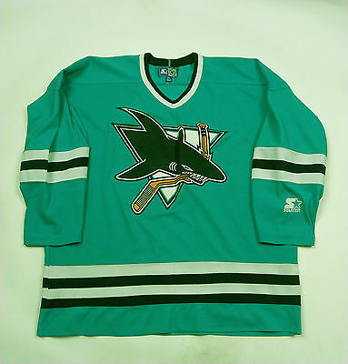 San Jose Sharks 1991 -1998  Jersey Shirt NHL Ice Hockey Vintage Starter