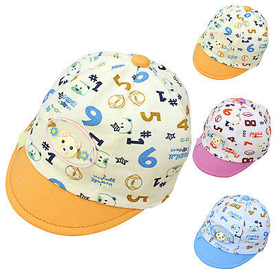 Fab Summer Children Kids Numbers Baseball Cap Baby Cap Fashion For Boys Girls