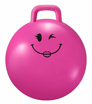Junior Space Hopper Pink Small Bouncy Toy High Quality Sturdy Hold Up To 30kg