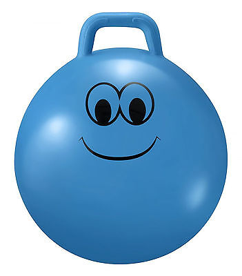 Junior Space Hopper Small Bouncy Entertaining Toy Fun Quality Gift Robust Blue