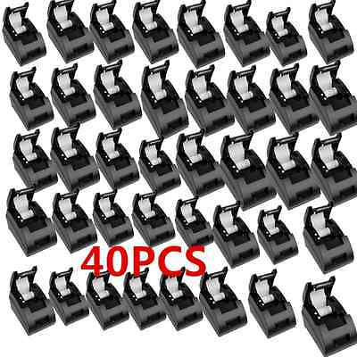 LOT40 USB 58mm POS/ESC Thermal Dot Receipt Printer Set 384 Line w/Roll Paper 12V