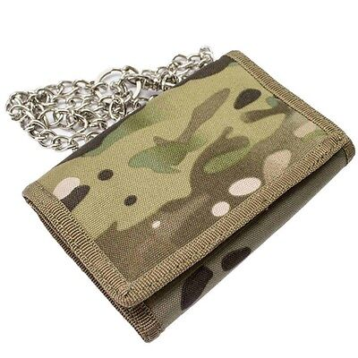 Kas Kids Camouflage Wallet On A Chain Mtp Multi Terrain Dpm Camo Gift Army