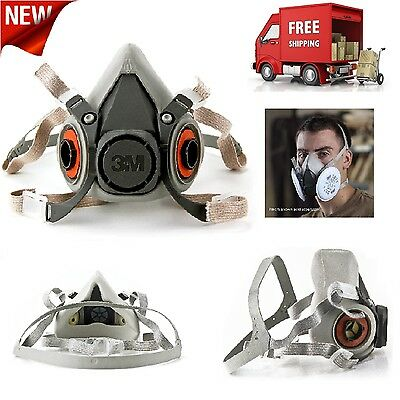3M Half Facepiece Reusable Respirator Assembly Dust Mask Respiratory Protection