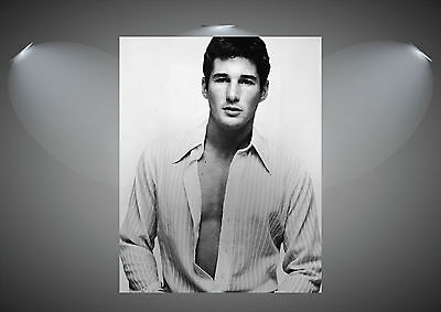 Richard Gere Vintage Movie Actor Large Art Poster Print - A0 A1 A2 A3 A4