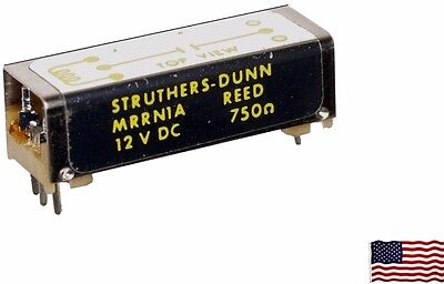 3 Struthers-Dunn 12 Vdc Reed Relay, Spst Pc Mount N.o. 750Ω