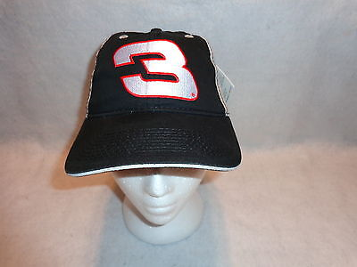 Chase Authentics DALE EARNHARDT #3 CAP Hat Nascar Adjustable Strap New W/ Tag