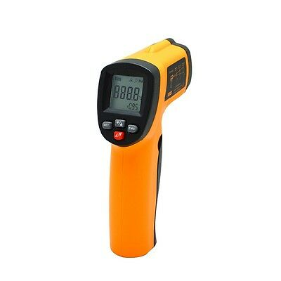 GM320 Non-Contact LCD IR Laser Infrared Digital Temperature Thermometer Gun K9
