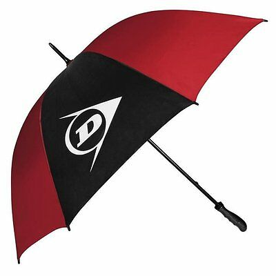 Dunlop Single Canopy Golf Umbrella (Red and Black)