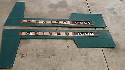 oliver 1600 engine side panels