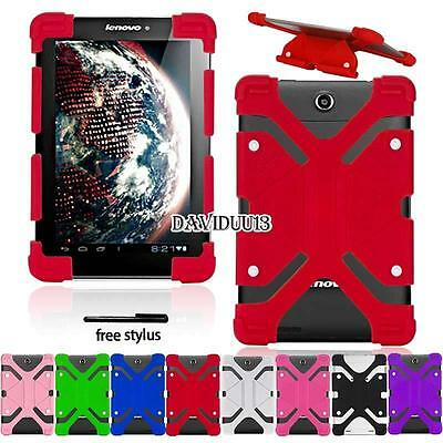 """Shockproof Silicone Stand Cover Case For 10.1"""" Lenovo Tab/Ideatab/Miix/thinkpad"""