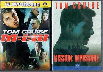 DVD Mission Impossible 1 et 3 (Neuf sous blister) | Tom Cruise | Lemaus