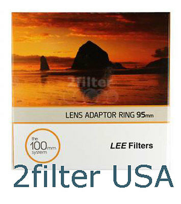 LEE Filters 95mm Standard Adapter Ring fits Lee Foundation Kit FK Filter Holder