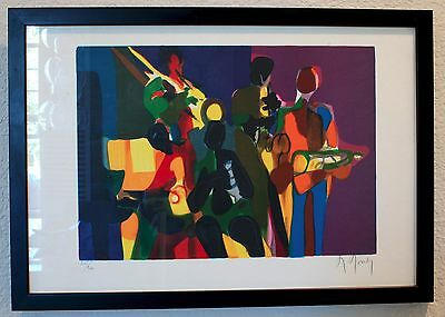 Marcel Mouly, Original Signed and Numbered Lithograph #115/300, framed