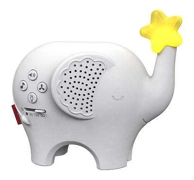 Fisher-Price Music & Lights Elephant Musical CRIB NEW and SOOTHER ZOO