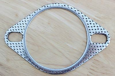 "3"" / 76mm Two Pin Performance Exhaust Gasket - universal for aftermarket exhaust"